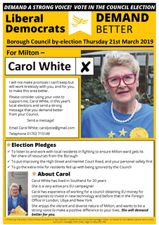 Milton by-election address March 2019 ()
