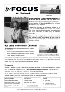 Chalkwell Focus Winter 2019 ()
