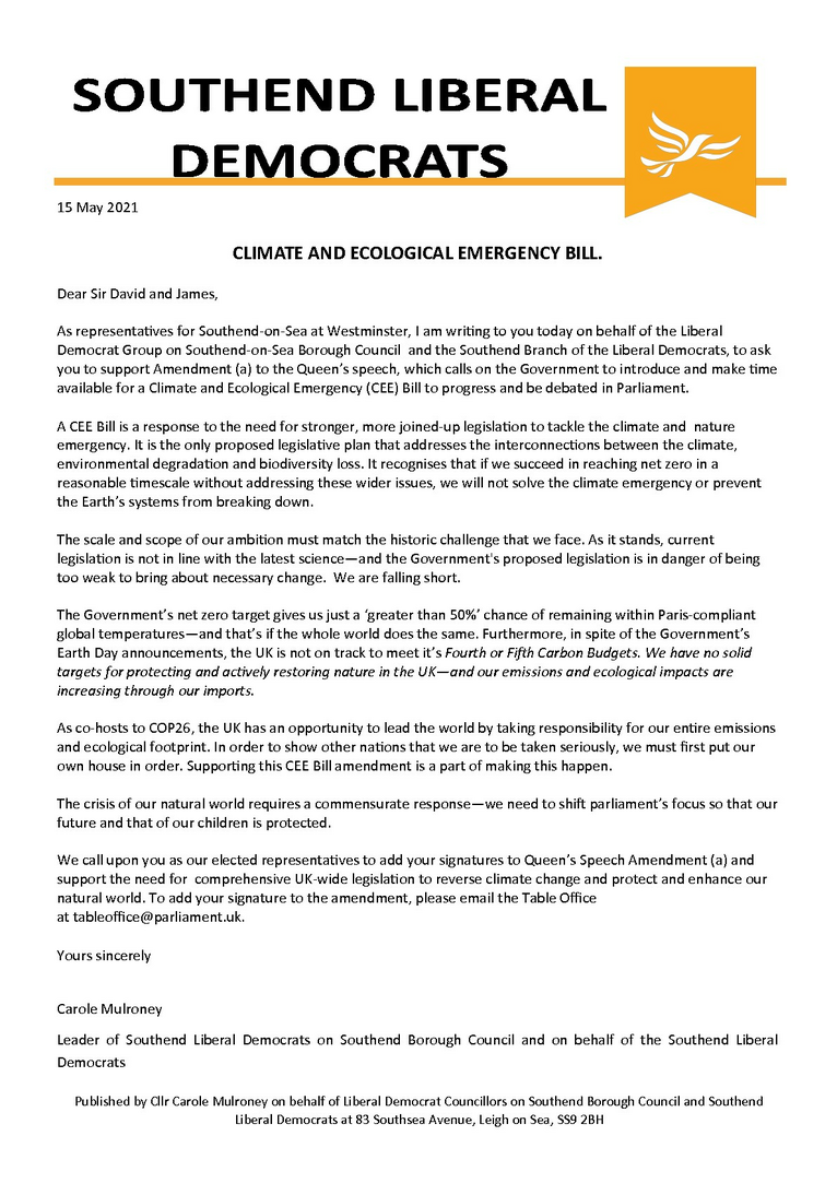 Climate change letter to Amess & Duddridge 15may2021 ()